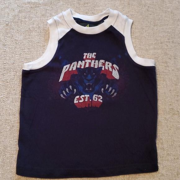Athletech Other - Tha Panthers boys sleeveless tank 4/5 Black